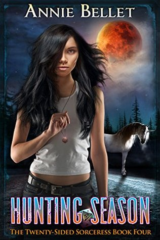 book cover for The Twenty-Sided Sorceress book 4 -Hunting Season by Annie Bellet