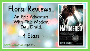 Featured Image - The Iron Druid Chronicles 3 - Hammered by Kevin Hearne