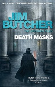 Review: Death Masks (The Dresden Files #5) by Jim Butcher