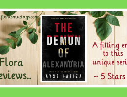 Featured Image - The Demon Series 7 - The Demon of Alexandria by Ayse Hafiza