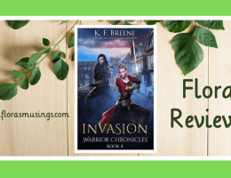 Featured Image - Warrior Chronicles 4 - Invasion by K. F. Breene