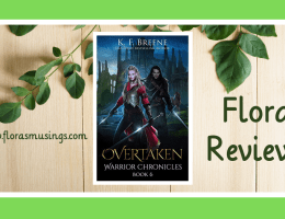 Featured Image - Warrior Chronicles 6 - Overtaken by K. F. Breene