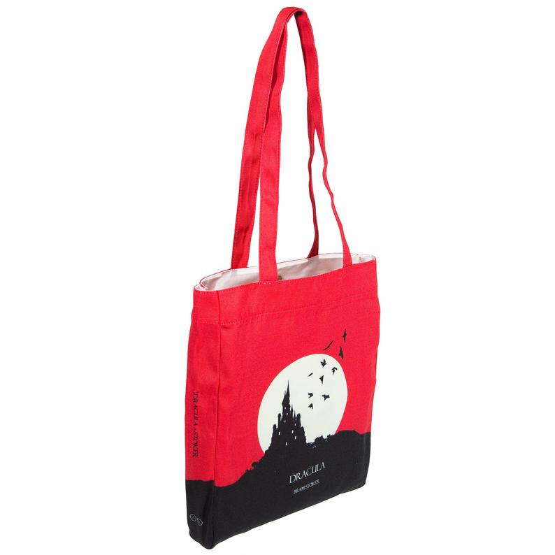 Etsy image of Dracula Tote Bag sold by Well Read Company