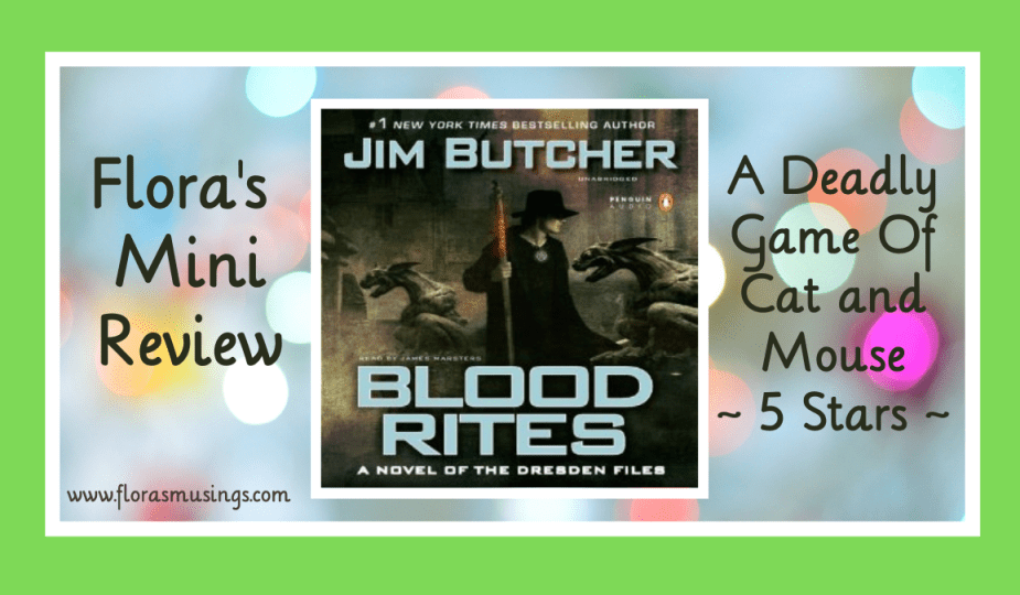 Featured Image - The Dresden Files 6 - Blood Rites by Jim Butcher. Narrated by James Masters