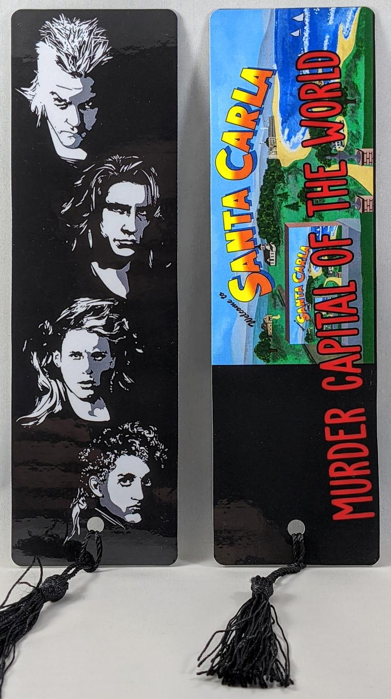 Etsy image of The Lost Boys Bookmark sold by The Geek Monkey