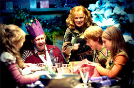 The Weasley's Christmas dinner