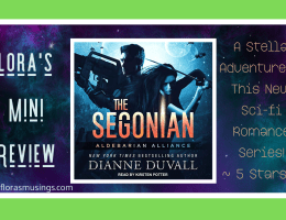 Featured Image - Aldebarian Alliance 2 - The Segonian by Dianne Duvall - Narrated by Kirsten Potter