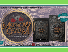 Featured Image - BBNYA 2020 Blog Tour - The Gate Cycle 1 - Marrow Charm by Kristin Jacques