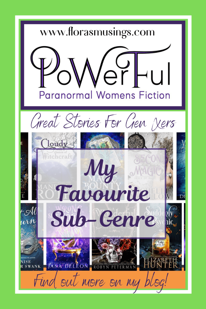 Pinterest Pin - My Favourite Sub-Genre PWF Paranormal Women's Fiction (1)
