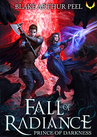 book cover for Fall of Radiance 5 - Prince of Darkness by Blake Arthur Peel
