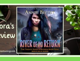 ALC Featured Image - Twenty-Sided Sorceress 9 - River Of No Return by Annie Bellet - Narrated by Hollie Jackson