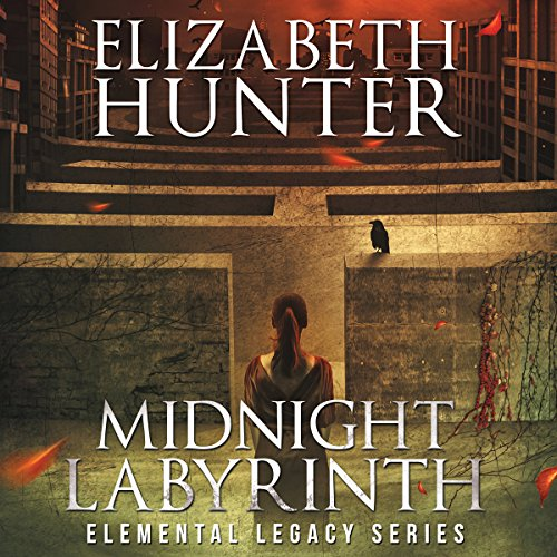 audiobook cover for Elemental Legacy 1 - Midnight Labyrinth by Elizabeth Hunter - Narrated by Sean William Doyle