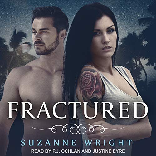 audiobook cover for Deep in Your Veins 5 - Fractured by Suzanne Wright - Read by Justine Eyre and P.J. Ochlan