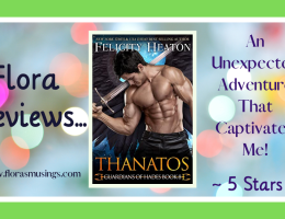 Featured Image - Guardians of Hades 8 - Thanatos by Felicity Heaton