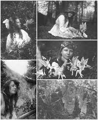 The Five Photographs of The Cottingley Fairies