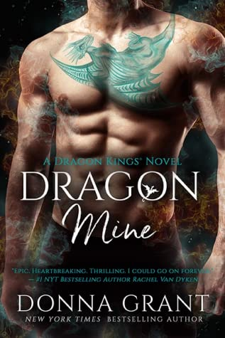 book cover for Dragon Kings 2 - Dragon Mine by Donna Grant