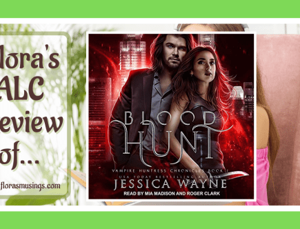ALC Featured Image - Vampire Huntress Chronicles 1 - Blood Hunt by Jessica Wayne - Read by Mia Madison and Roger Clark