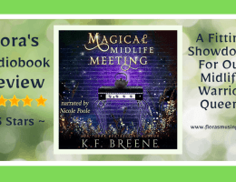 Featured Image - Leveling Up 5 - Magical Midlife Meeting by KF Breene - Read by Nicole Poole