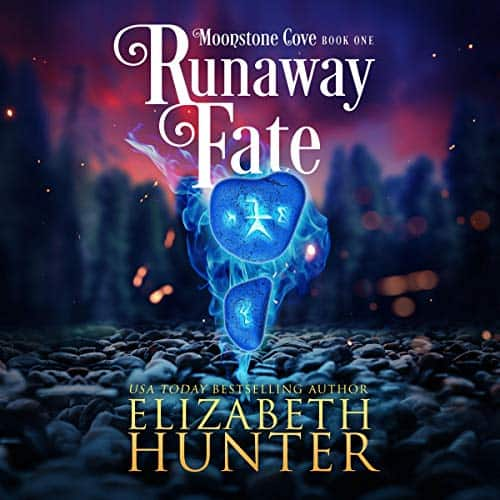 audiobook cover for Moonstone Cove 1 - Runaway Fate by Elizabeth Hunter - Read by Ava Lucas