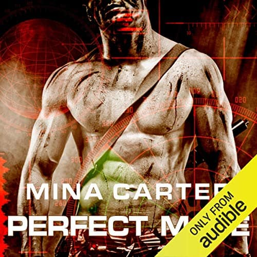 audiobook cover for Project Rebellion 1 - Perfect Mate by Mina Carter - Read by Emily Beresford