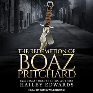 AudioBook Birthday: The Redemption of Boaz Pritchard by Hailey Edwards