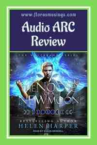 Pinterest Pin - Audio ARC Review - Wolfbrand 1 - The Noose of a New Moon by Helen Harper - Read by Shaun Grindell (1)