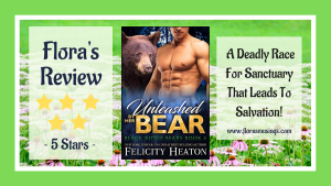 Featured Image - Black Ridge Bears 4 - Unleashed By Her Bear by Felicity Heaton