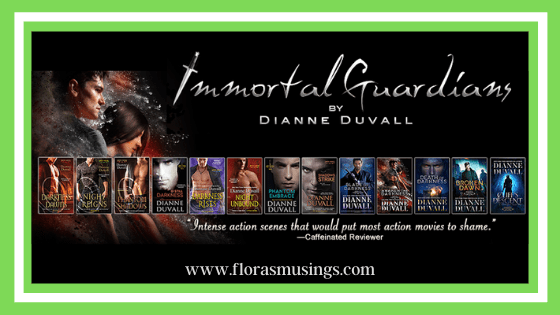 Featured Immage - Immortal Guardians series by Dianne Duvall (2021)