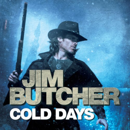 audiobook cover for The Dresden Files 14 - Cold Days by Jim Butcher - Read by James Marsters