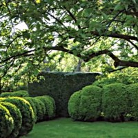 Anna Wintour's Garden on Long Island