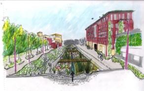 Sheffield's Riverside Business Park - Conceptual Design 2