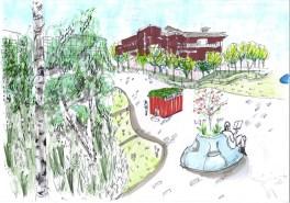 Sheffield's Riverside Business Park - Conceptual Design 3