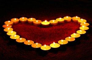 Herz Kerzen