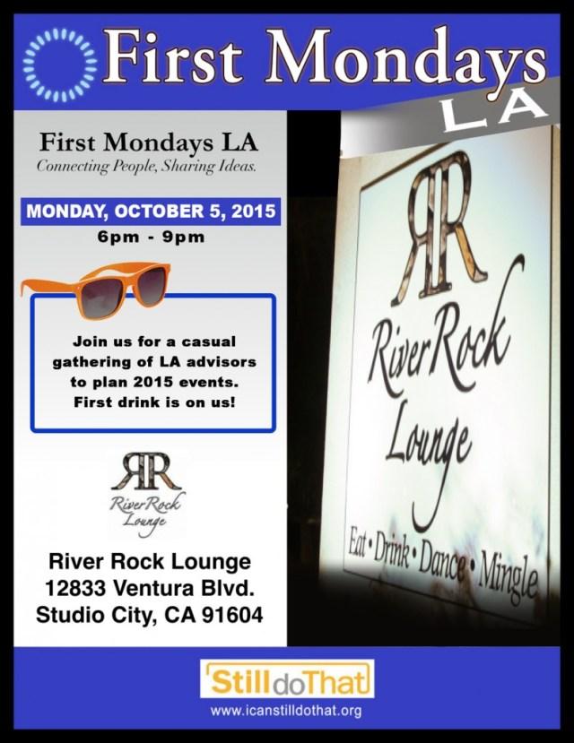 First Mondays Oct RRL