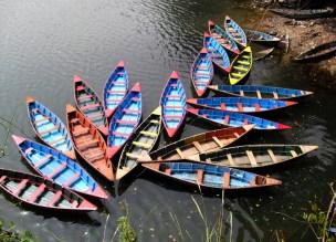 Nepal-Pokhara lake
