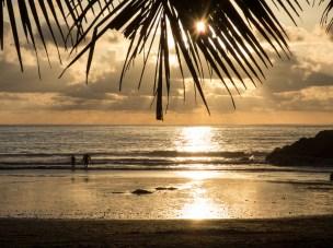 Golden hour in Costa Rica