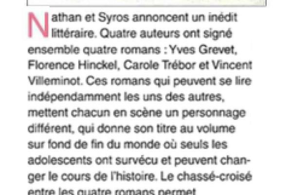 La Tribune du réseau presse, août 2015