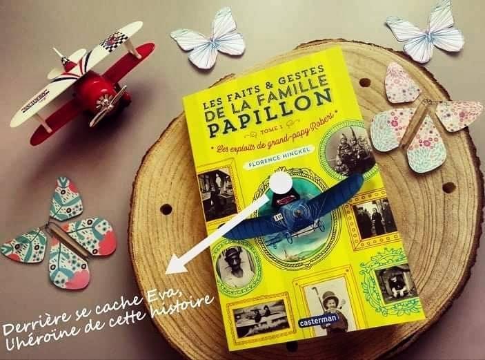 La famille Papillon : Librairie Un fil à la page (Mordelles)