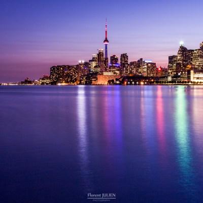 Purple Skyline