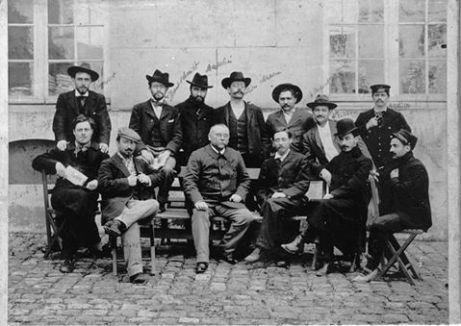 Parisian musicians, 1900 (Ravel, Schmitt, Roger-Ducasse, Dupont)