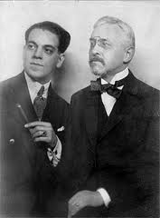 Composers Heitor Villa-Lobos and Florent Schmitt