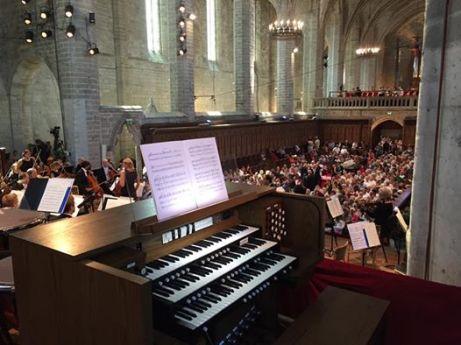 Florent Schmitt Psaume XLVII Jacques Mercier Festival de Chaise Dieu 2016