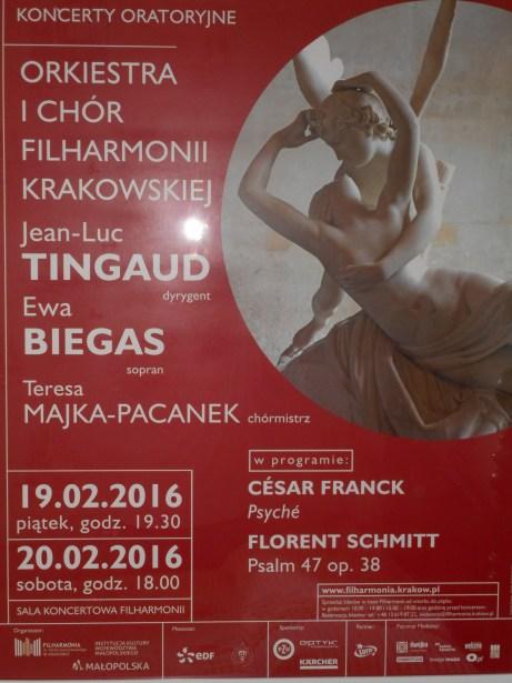 Florent Schmitt Cesar Franck Krakow Philharmonic Tingaud