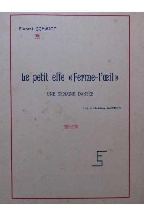 Schmitt Le Petit Elfe Ferme-l'oeil score 1923