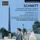 Florent Schmitt volume 4 Invencia Piano Duo
