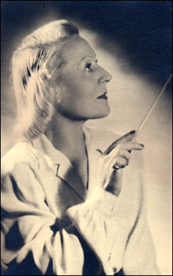 Jane Evrard, French conductor
