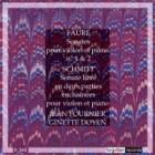 Schmitt and Faure Violin Sonatas Jean Fournier + Ginette Doyen Forgotten Records
