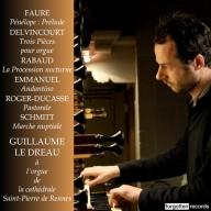 Guillaume Le Dreau organ recital Forgotten Records