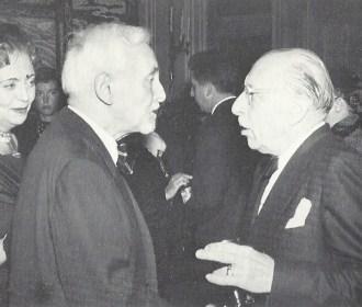 Florent Schmitt and Igor Stravinsky