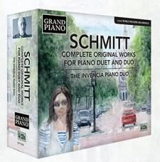 Florent Schmitt complete duo-pianist music Invencia Piano Duo